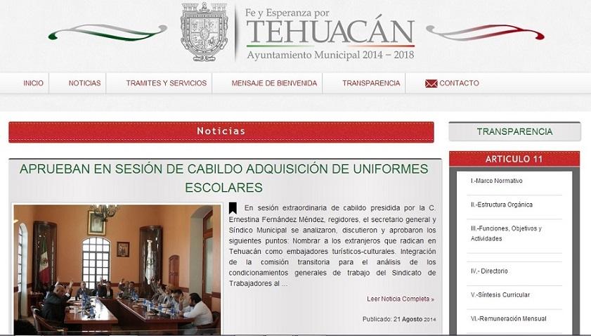 Tehuacan 2014-2018